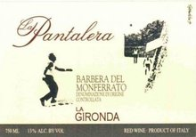 "Barbera di Monferrato ""La Pantalera""  -  LA GIRONDA"