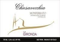 """Monferrato Rosso """"Chiesavecchia""""  -  LA GIRONDA"""